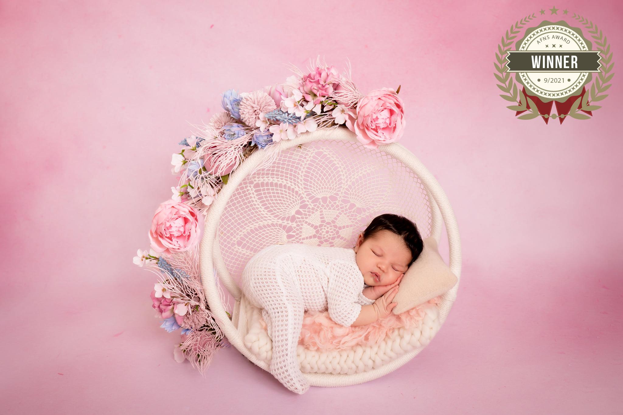 Photographe nouveau-né par Tatiana Brisson à Vitré